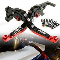 For Yamaha XT660/X/R/Z 2004 2017 XT 660/XT660X/XT660R/XT660Z Motorcycle CNC Brake Clutch Levers Adjustable Foldable Extendable