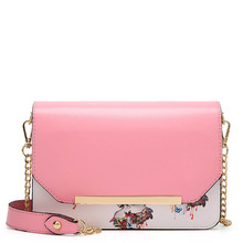 2017 New Women Messenger Bags Of Famous Brands Pu Leather Chain Shoulder Bag For Women Bag Ladies Luxury Brands Designer small shoulder bag for women 2017 luxury famous brands designers messenger bags high quality pu leather panelled crossbody purse