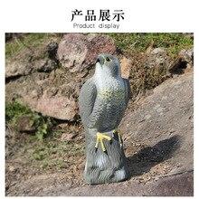 PDDHKK Реалистичная поддельная Сокол ястреб орел Сова уличная летающая птица Воробей охотничья приманка борьба с вредителями сад Scarer Птица Приманка