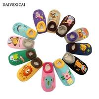 Daivsxicai Children Cute Socks Fashion Cartoon Cotton Socks Boy Casual Comfortable Non-slip Socks For Baby 3pairs/lot