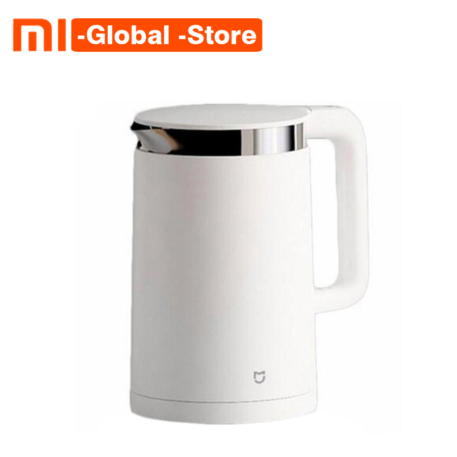 Us 53 44 28 Off In Stock Original Xiaomi Mijia Thermostatic Electric Kettles 1 5l 12 Hours Thermostat Kettle Smart Control By Mobile Phone App In
