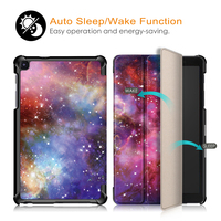 """galaxy tab Slim Case for Samsung Galaxy Tab A 8.0 SM-P200/P205 Tablet Folding Stand Cover for Samsung Galaxy Tab A 8.0"""" 2019 Released (3)"""