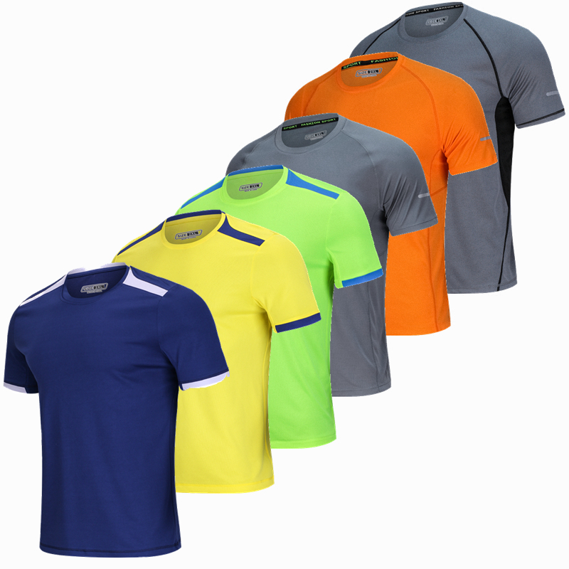 Males Brief Sleeve Survetement Sport Working Shirt breathable Basketball Soccer Coaching Health T Shirt Fitness center Clothes Sportswear sportswear clothes, sportswear working, sportswear males,Low-cost sportswear clothes,Excessive High quality sportswear...