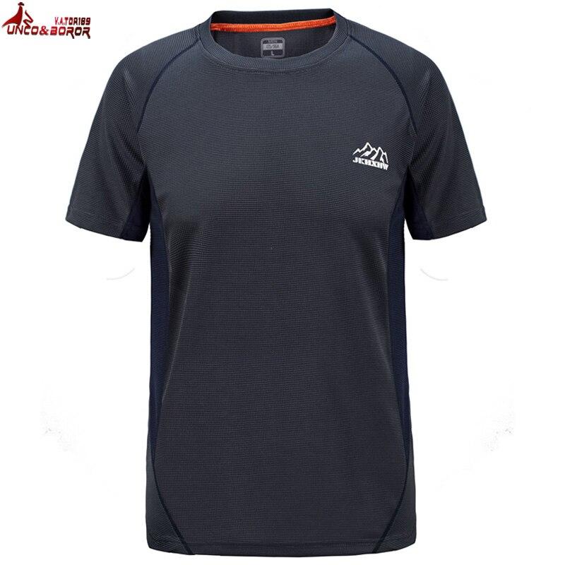 UNCO&BOROR plus size M~6XL 7XL Breathe Quickly Dry   T  -  shirt   military Compression Tshirt Summer Short Sleeves   T     Shirt   tops&tees