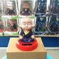 Бесплатная Доставка 2 Шт. За Лот Кивая Головой Под Полный Свет Без Батареи Новинка Элементы Буддизма Солнечной Энергии Монах Игрушки
