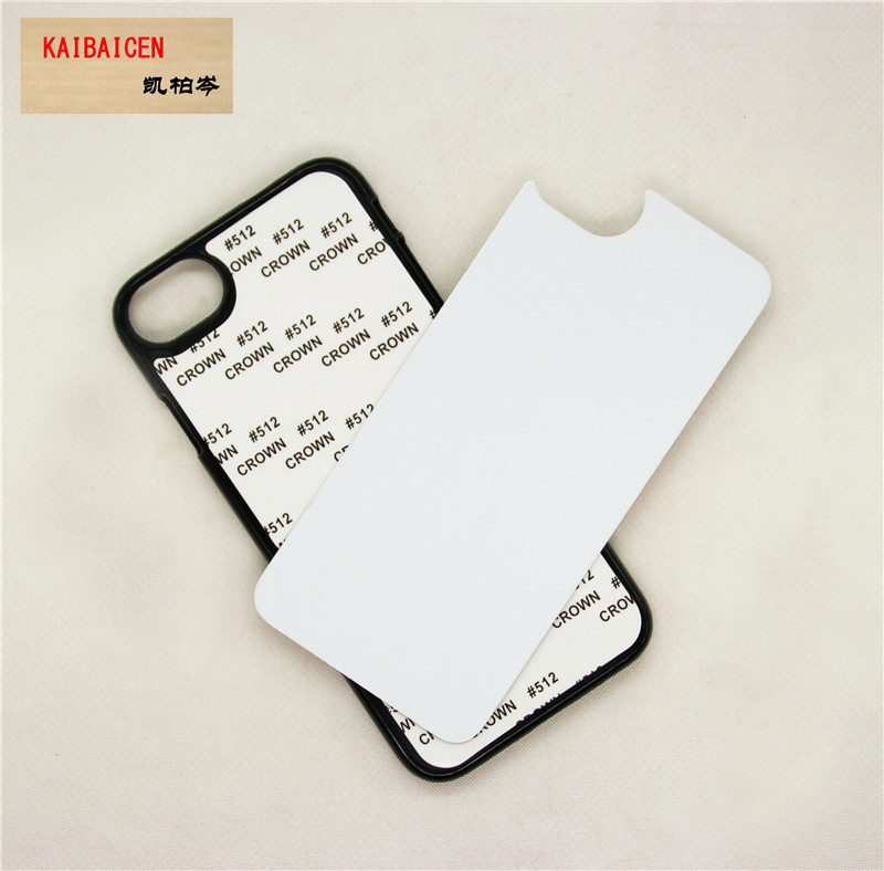 DHL Free shipping Mixture Type Sublimation Plastic Hard Case Cove with Aluminum plate with Gule