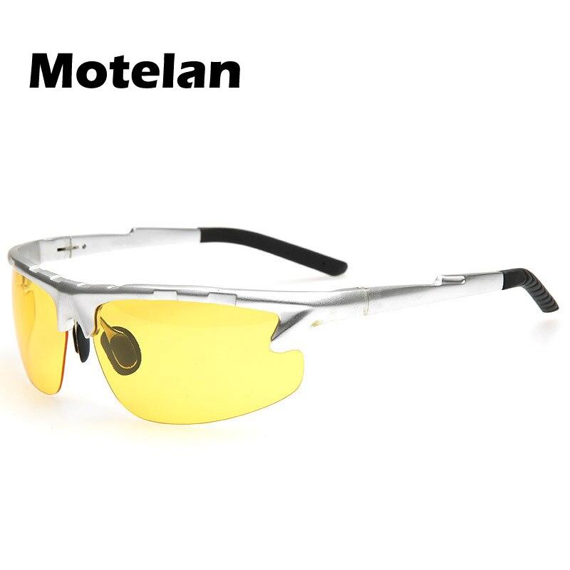 2017 Nouvelle Vision Nocturne Polarisée Lunettes Anti-éblouissement Conduite Lunettes Lunettes Polarisées pour hommes miroirs nuit Vision lunettes 9123