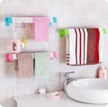 Hanging Quick Dry Towel Rack Kitchen Wet-and-dry Cloth Rack Bathroom Organizer And Storage Plastic Towel Wall Shelf