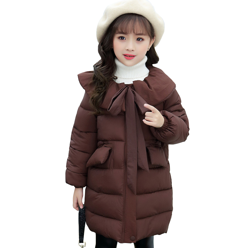 kids winter thick warm long coat age for 4 - 14 yrs teenage girls windproof and waterproof tops big girls school style outfits children clothes knit 2pcs set age for 4 14 yrs teenage girls winter thick warm school style outfits long sleeve sweater pants