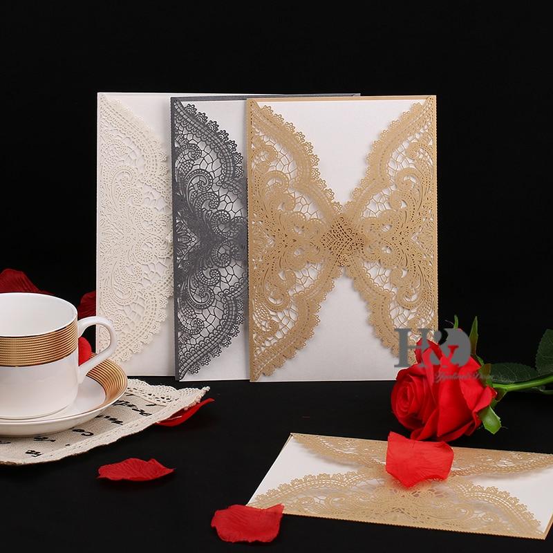 Ev ve Bahçe'ten Kartlar ve Davetiyeler'de Promosyon 120 adet Lazer Kesim Düğün Davetiyeleri Kartı Özelleştirilmiş Baskı Davet Kartları Doğum Günü Partisi Davetiyesi Kartı'da  Grup 1
