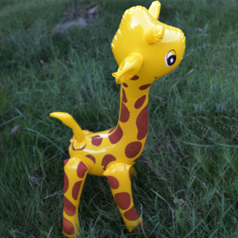 Party Inflatable Toy Giraffe Design Deer Shaped Animals Large PVC Balloon Cartoon Cute Gift Blow Up Novelty Children