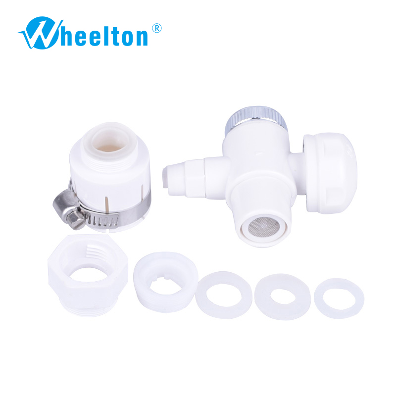 Faucet adapter valve Faucet water filter accessories Wholesale and retail Free shipping wholesale and retail 20pc 9pin gold plated ceramic tube socket audio accessories rs1003 f3a amplifier free shipping