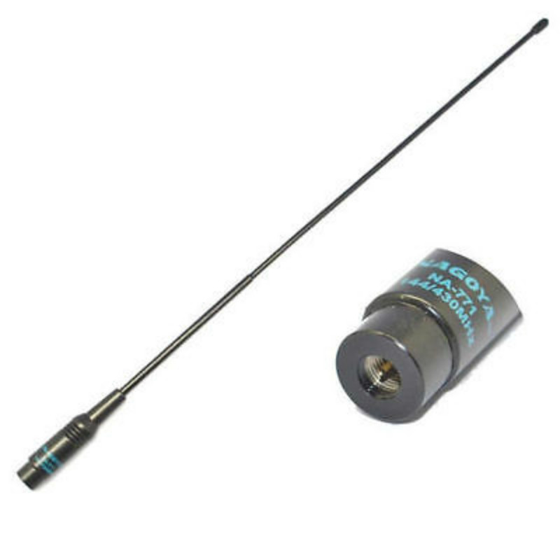 Image 3 - Hot Dual Band 144MHz 430MHz SMA Male Radio Antenna For YAESU NAGOYA NA 771-in Walkie Talkie Parts & Accessories from Cellphones & Telecommunications