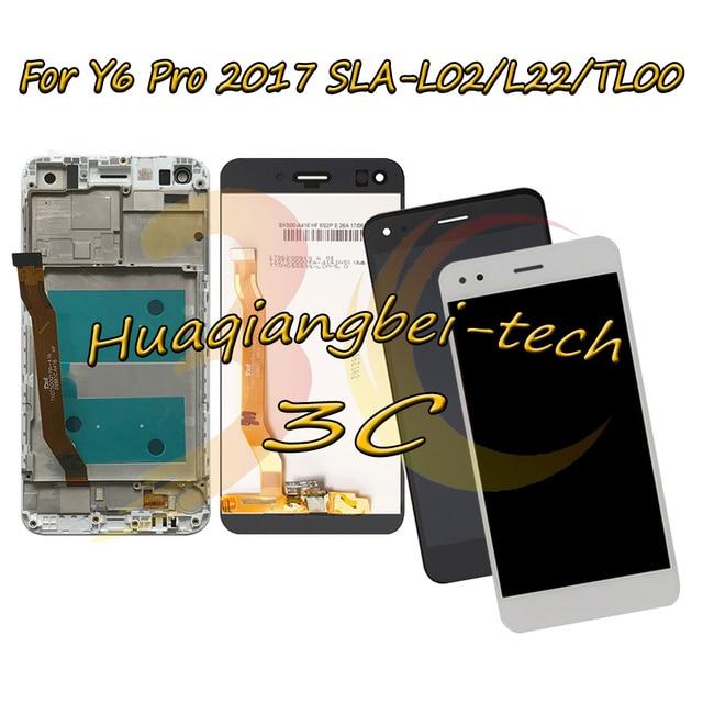 5.0 new new novo para huawei y6 pro 2017 SLA L02 SLA L22 SLA TL00 display lcd completo + tela de toque digitador assembléia com quadro rastreamento