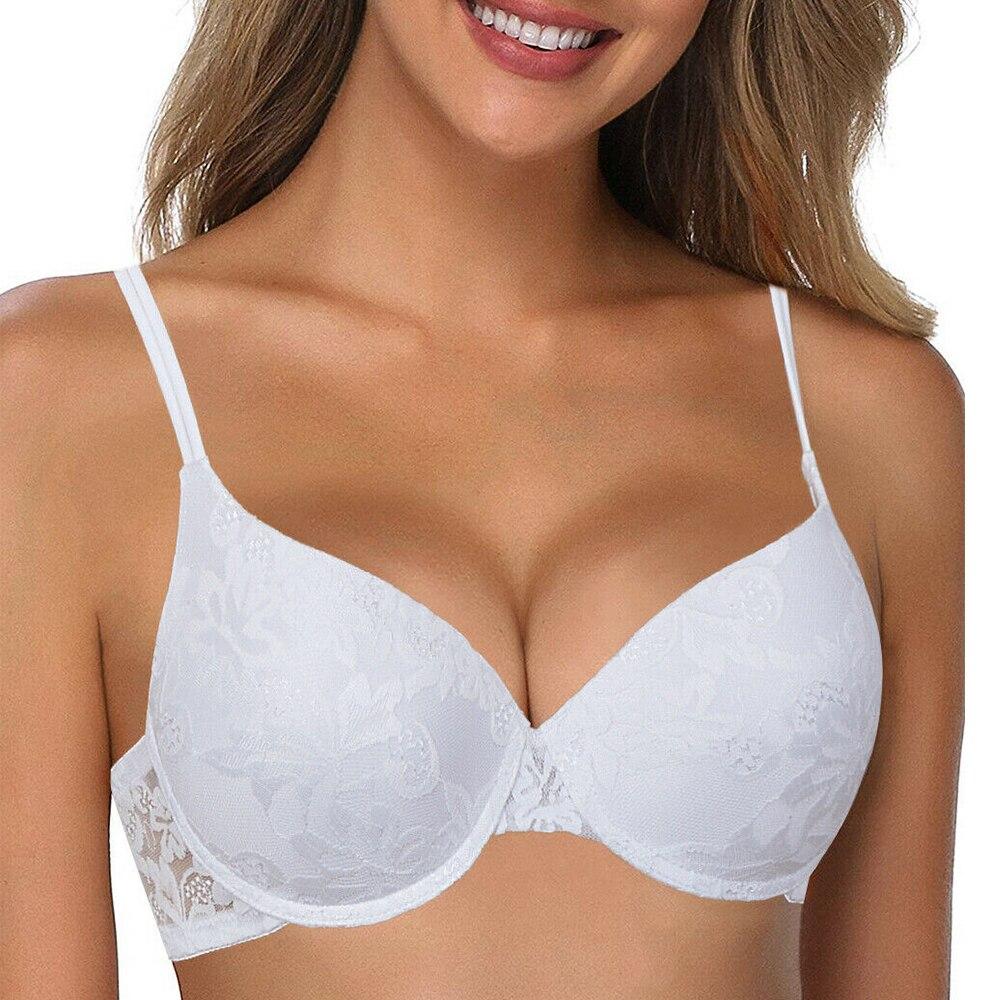 Лидер продаж, сексуальный новый женский бюстгальтер, белый кружевной цветочный прозрачный нижнее белье на каждый день, нижнее белье, женски...