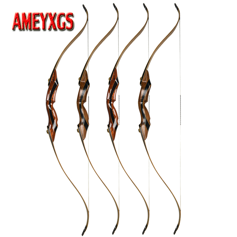 58inch Archery Recurve Bow 25 55 lbs American Hunting Bow Right Hand Longbow For Outdoor Sports