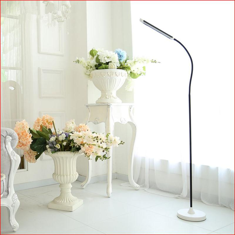 Modern Eye-protective LED Floor Lamps For Living Room Piano Standing Lights 8W 5-level Brightness Floor Home Lighting Fixtures aibiou white led floor lights for living room adjustable standing lamp black floor lamps modern reading lighting fixtures
