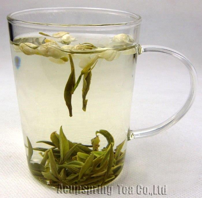 250g Supreme Jasmine Flower Anji White Tea, Anji Bai Cha, Tea,CLA01M, Free Shipping 500g 1lb premium jasmine flower anji white tea anji bai cha tea a3cla02m free shipping