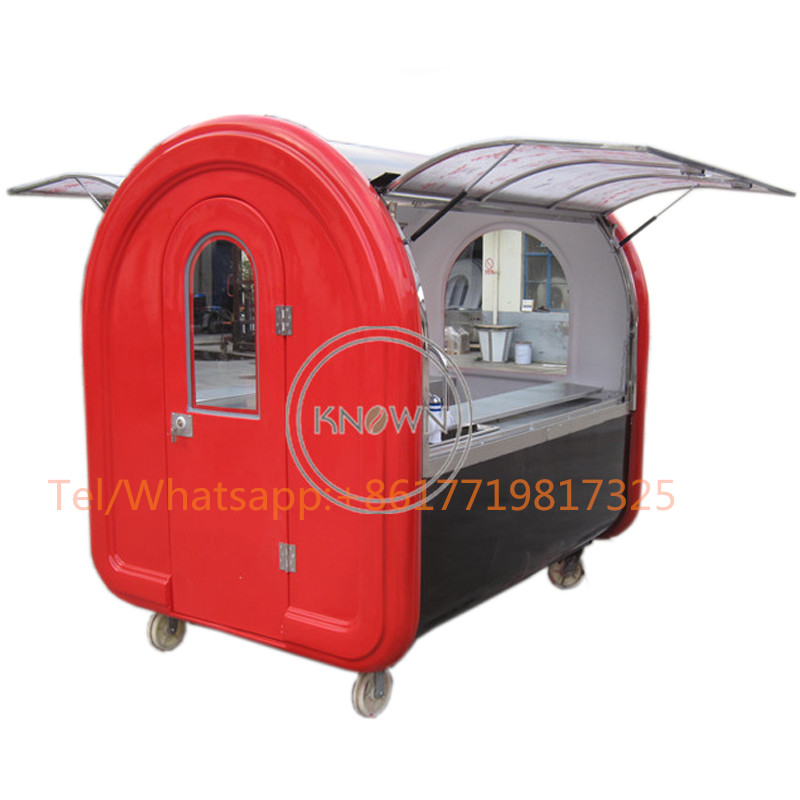 CE Approved Mobile Used Food Catering Trailers, Fast Food Concession Trailer/towable Food Trailers For Sale