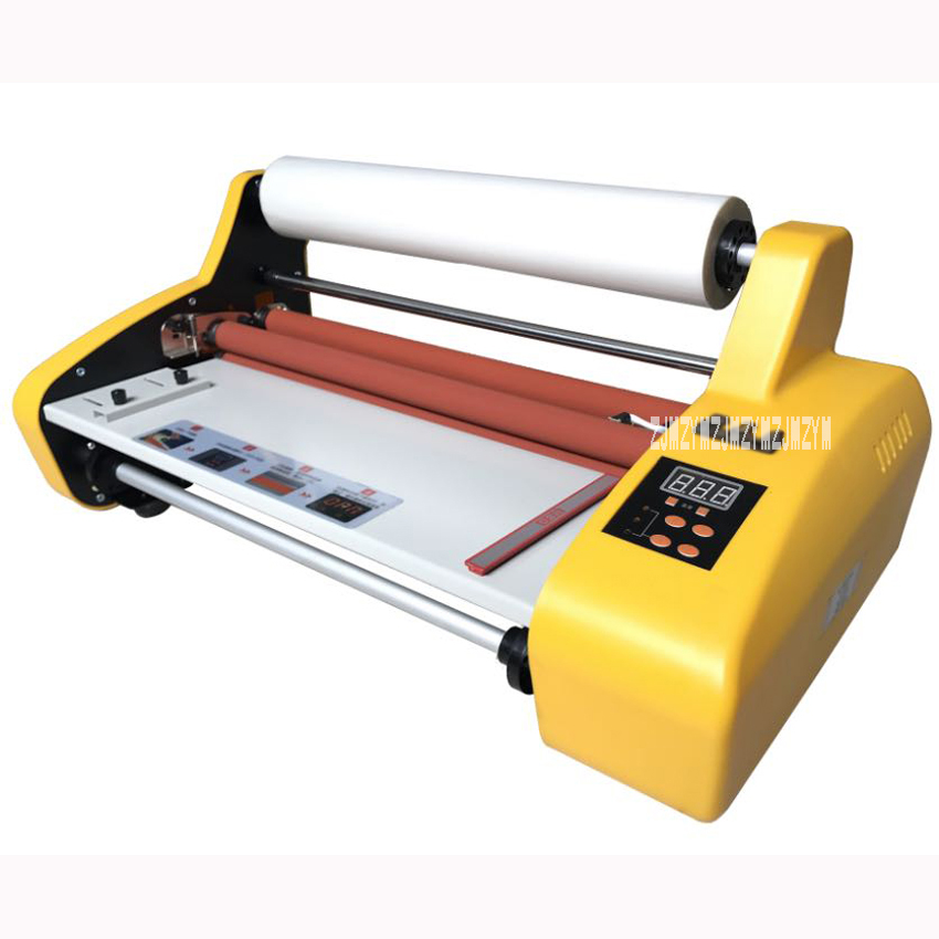 FM 380 paper laminating machine,students card,worker card,office file laminator.100% Guranteed photo laminator