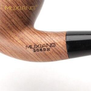 Image 5 - Muxiang 10 도구 키트 가져온 kevazingo 나무 구부러진 목조 담배 파이프 흡연 9mm 필터 남자 컬렉션 ad0018에 대 한 좋은