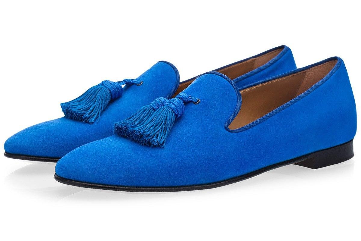 Zapatos planos de Hombre Zapatos de vestir de negocios zapatos de hombre negro slip on tassel boda Hombre Zapatos - 2
