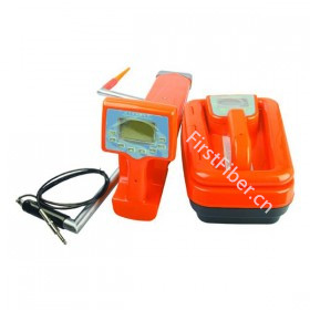 FirstFiber FF-1400B Pipeline And Cable Locator, With Inductive Clamp, Stethoscope And GPS