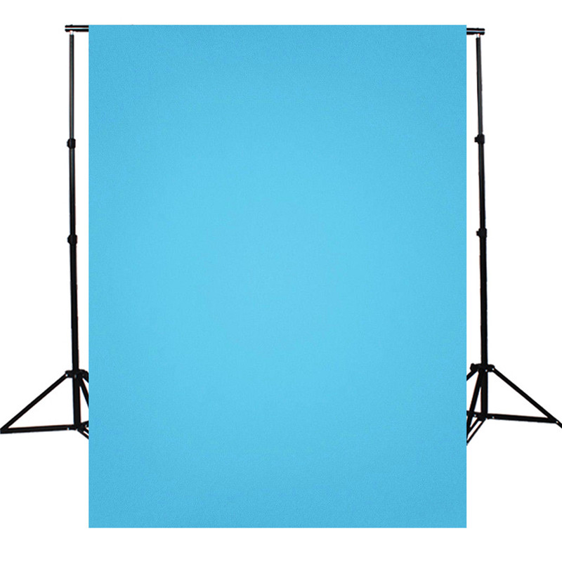 5X7FT solid color Blue Photography Background For Studio Photo Props Photographic Backdrops cloth light weight 1.5x2.1m 7x5ft vinyl photography background white brick wall for studio photo props photographic backdrops cloth 2 1mx1 5m