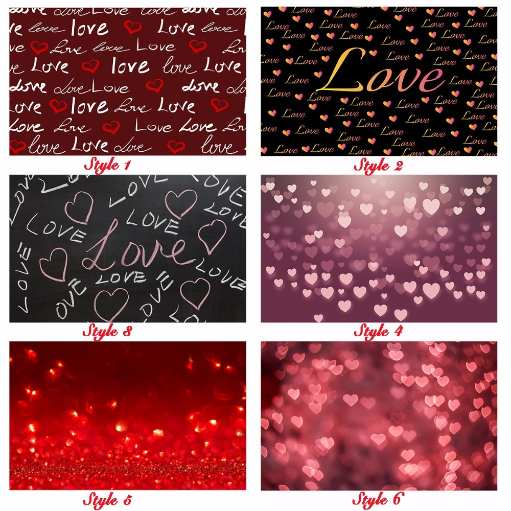 Allenjoy 7x5ft love theme backdrop Valentine's Day couple using romantic love hearts vinyl photography background for personal 200 300cm 6 5 10ft studio backdrop for alentine s day vinyl custom photography letter combinations romantic colorful for youth