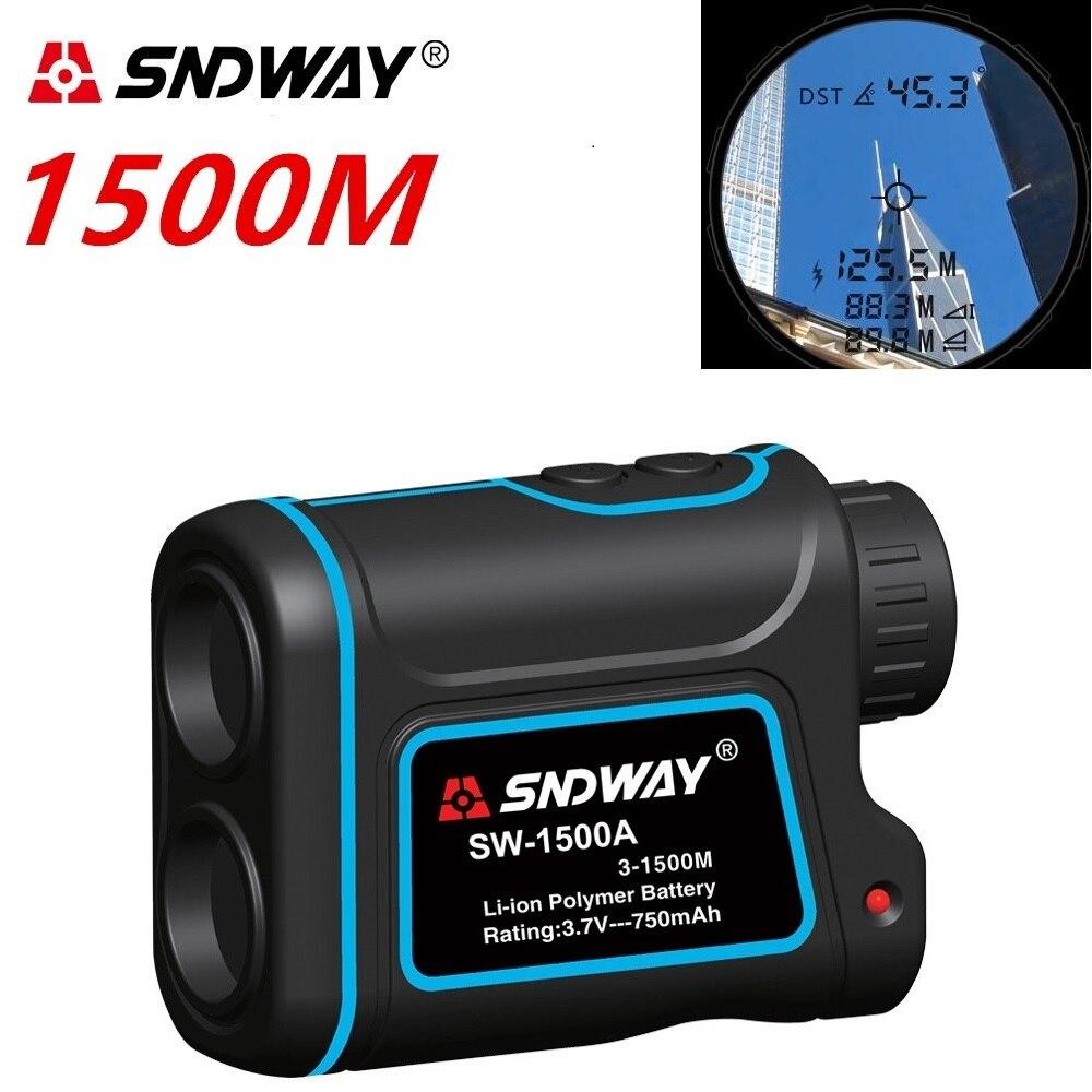 Telescope trena laser rangefinders distance meter Digital 7X 600M 1500M Monocular hunting golf laser range finder tape measure