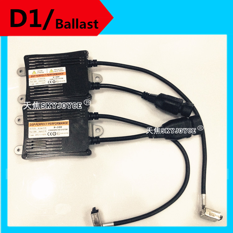 2X 35W D1 ballast 12V 24V D1R D1C D1S canbus ballast for hid xenon bulbs D1C/S D1S cable adapter xenon 300% brighter halogen