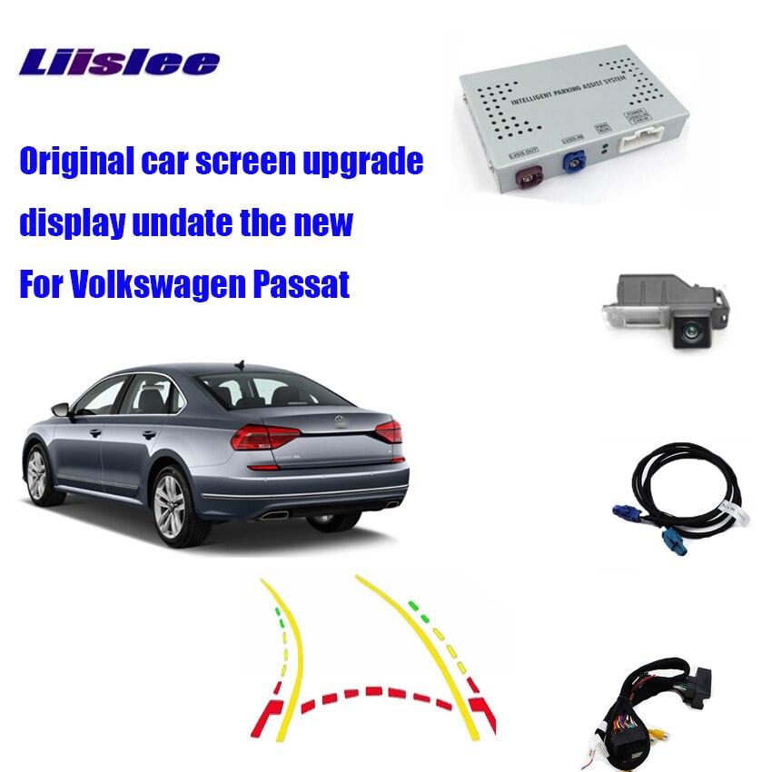 Liislee pour Volkswagen Passat Interface de caméra de stationnement mise à jour de l'affichage Original retour Kits de sauvegarde décodeur numérique