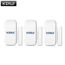 KERUI 433 MHz Wireless Door Window SENSORเปิดเครื่องตรวจจับGSM PSTN Home ALARM Home Security Voice Burglarสมาร์ทนาฬิกาปลุกระบบ