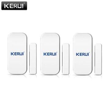 KERUI 433mhz Wireless Door Window Sensor Open Detector GSM PSTN Home Alarm System Security Voice Burglar Smart - discount item  32% OFF Security Alarm
