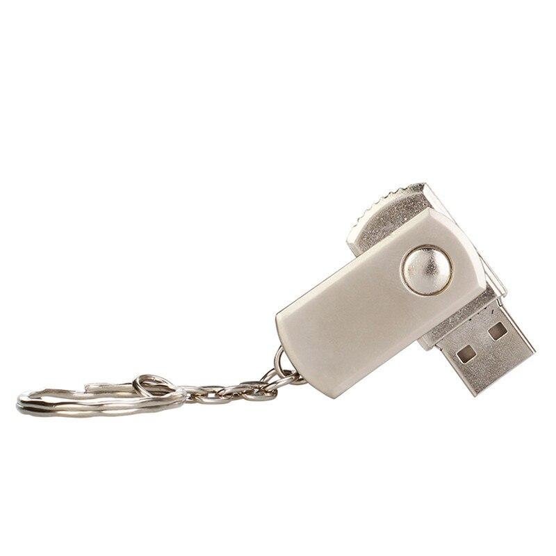Usb flash drive 64gb usb 2.0 pendrive metal waterproof 4GB 16GB 32GB 128GB silver bracelet flash stick best gift free print LOGO (2)