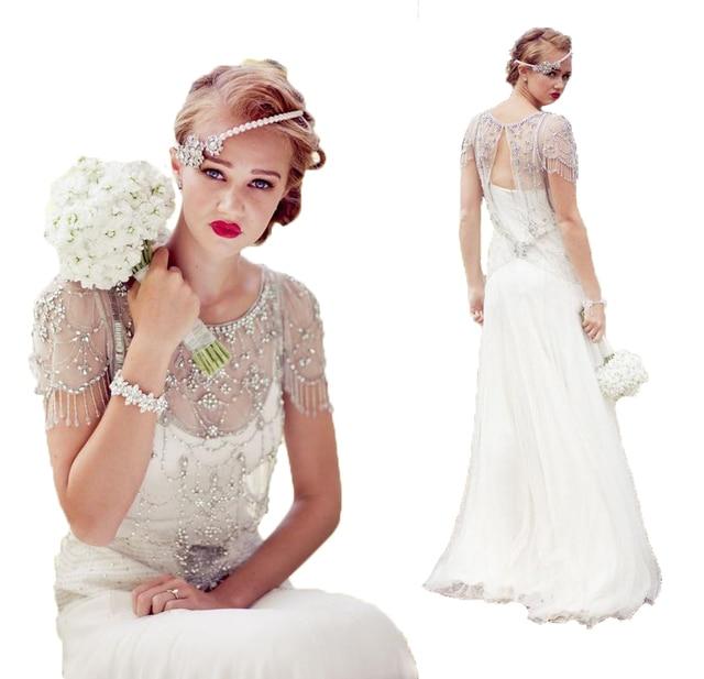 White Camo Wedding Dresses 2017 With Sleeves Rhinestones Elegant ...