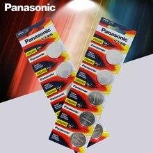 10 шт. Panasonic CR2450 CR 2450 3 V литиевые плоские батареи Батарея Миниатюрный элемент питания для ремонта часов, часы, слуховые аппараты