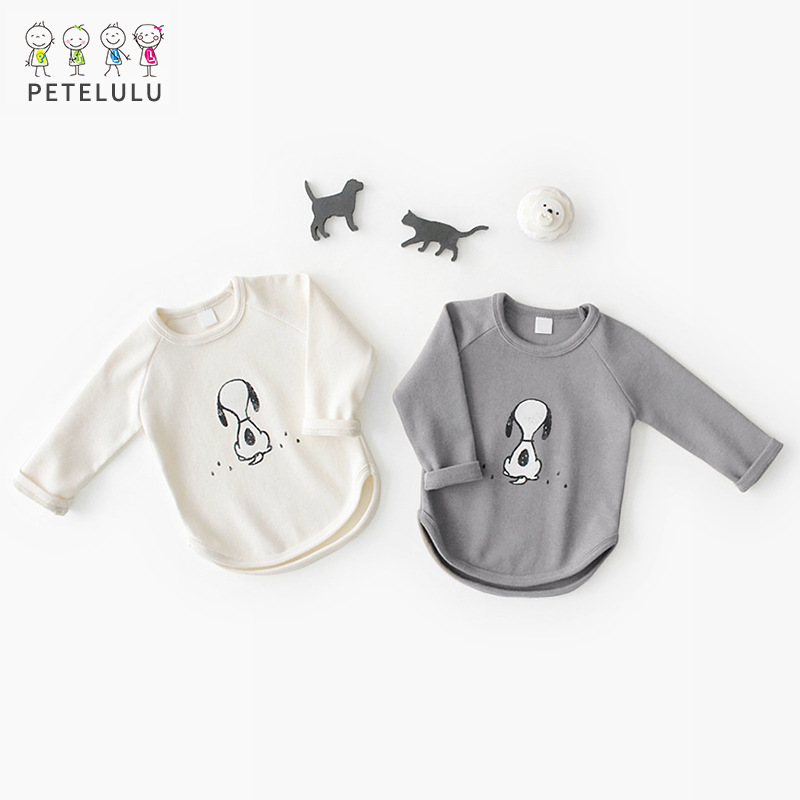 2018 New Spring Baby Top Cotton font b Kids b font T font b Shirt b