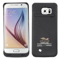 100% novo 4200mah caso carregador de bateria do telefone celular para samsung galaxy s6/s6 borda telefone inteligente caso de carregamento da bateria capa
