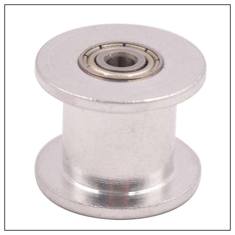 15 Teeth 5M Idler Pulley Tensioner Bore 8mm with Bearing Guide Regulating synchronous HTD5M pulley 15T 15teeth hard anodized cast aluminum wire guide pulley extruding machine idler pulley