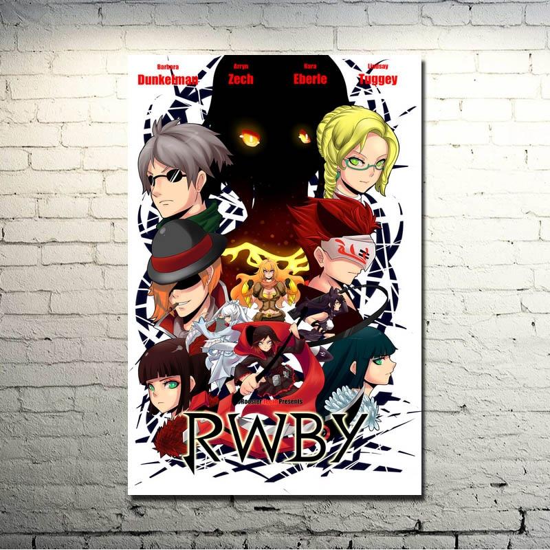 "RWBY poster wall art home decor photo print 24x24/"" inches"
