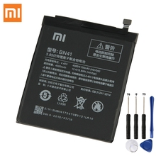 Original Replacement Battery For Xiaomi Redmi Note 4 Redrice Note4 Pro 4X High-end Version BN41 MTK Helio X20