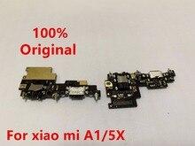 Xiao mi mi A1 için ŞARJ portu Flex kablo Şarj Yuva Konnektörü PCB kartı şerit Flex Kablo + Kulaklık Jack Ses mi A1 + mi c