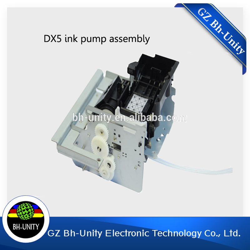 Printer parts pump assenmly for e pson dx5 pump assembly for mutoh printer ink pump assembly made in china u shape ink pump for roland printer sc540 sc545 sj540 sj640 sj645 sj740 sj745 sj1000 sj1045 xj540 xj640 xj740 xc540 vp540 pump