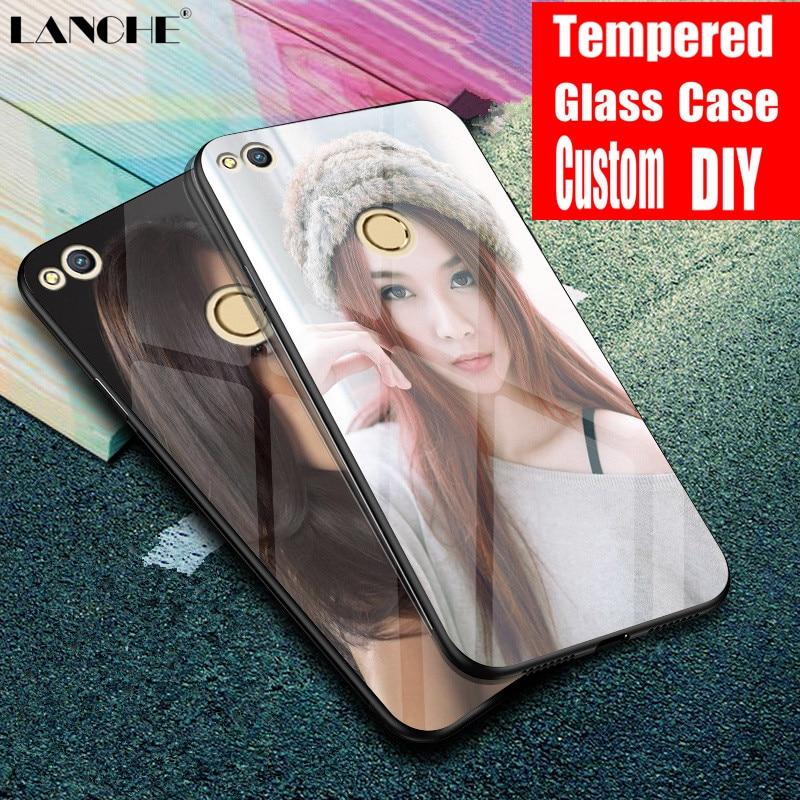 ▻LANCHE Custom Photo Phone Case For Huawei P8 P9 Lite 2017 ...