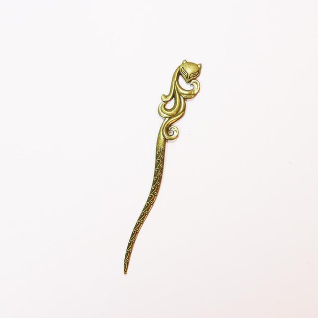 New Bronze Vintage Hair Sticks 17 Styles Headbands For Women Elegance Lady Hairpins Fashion Alloy Hair Clip Hair Accessories