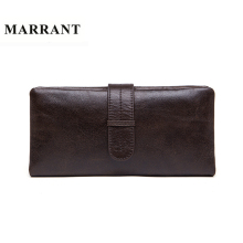 MARRANT Genuine Leather Men Wallets Leather Fashion Man Long Wallet Men's Coin Purse Male Casual Clutch Bag Hand Bag Wallet 6018