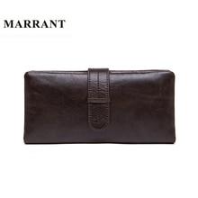 MARRANT Genuine Leather font b Men b font font b Wallets b font Leather Fashion Man