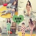 2017 crianças roupas íntimas de algodão mobiliário doméstico na versão coreana do a variedade cor pijamas roupa dos miúdos