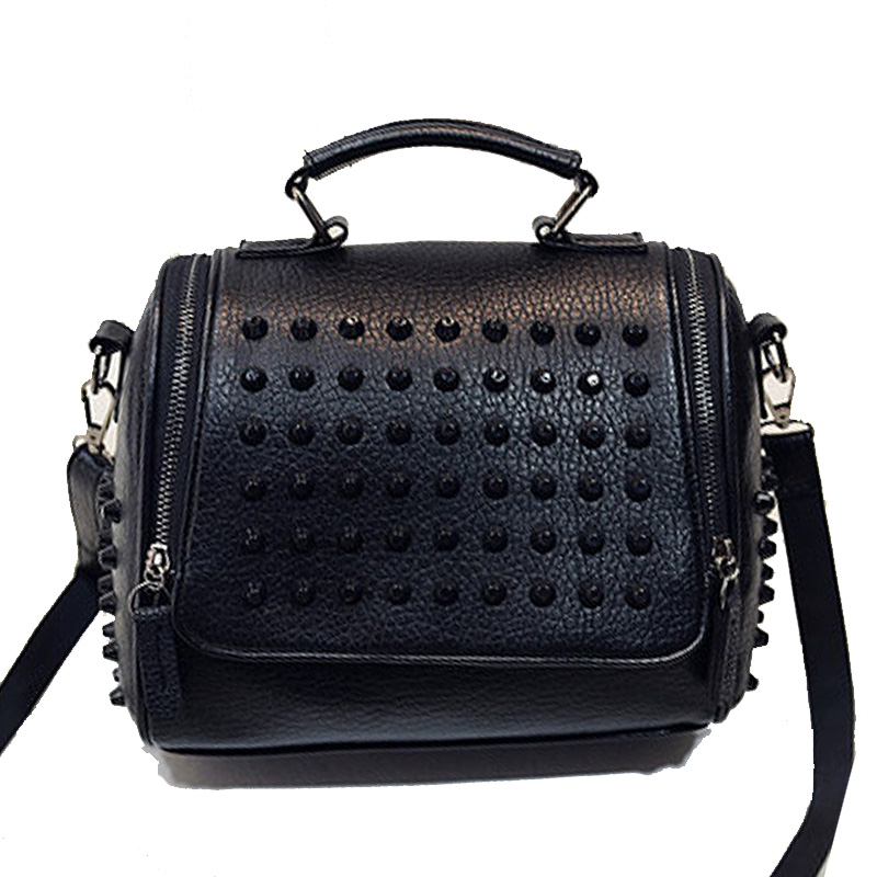 Online Get Cheap Black Studded Tote Bag -Aliexpress.com | Alibaba ...